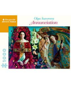Olga Suvorova: Annunciation 1000-Piece Jigsaw Puzzle
