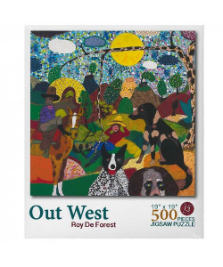 Out West Puzzle by Roy De Forest