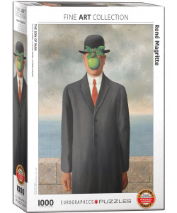 *Rene Magritte Son of Man Puzzle