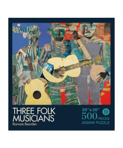 Romare Bearden Three Folk Musicians Puzzle