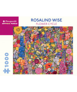 Rosalind Wise: Flower Cycle 1000-Piece Jigsaw Puzzle