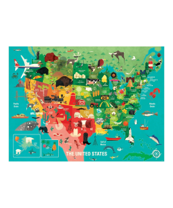 The United States 1000 Piece Family Puzzle