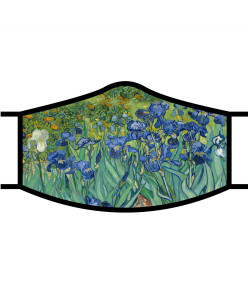 Face Mask - Van Gogh Irises