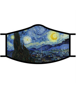Face Mask - Van Gogh Starry Night