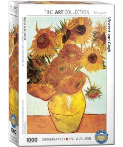 Vincent Van Gogh: Twelve Sunflowers Jigsaw Puzzle