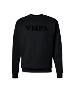 *VMFA Black Tone on Tone - Crewneck Sweatshirt