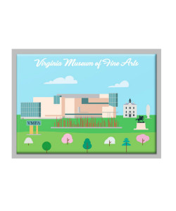 VMFA Panorama Magnet