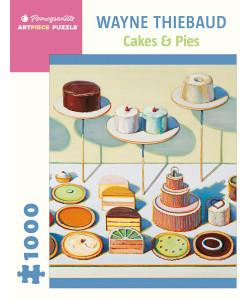 Wayne Thiebaud: Cakes & Pies 1000-piece Puzzle