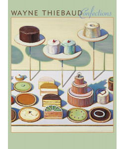 *Wayne Thiebaud Confections Notecards