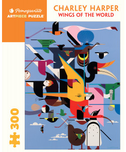 Charley Harper: Wings of the World Jigsaw Puzzle