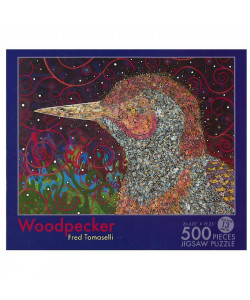 Fred Tomaselli: Woodpecker Jigsaw Puzzle
