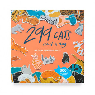 299 Cats (and a dog): A Feline Cluster Puzzle