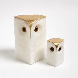 Alabaster Owl - Small or Large