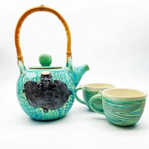 Carren Clarke Umm Ceramic Teapot + Cups