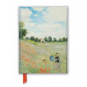 Claude Monet: Wild Poppies, near Argenteuil Foiled Journal