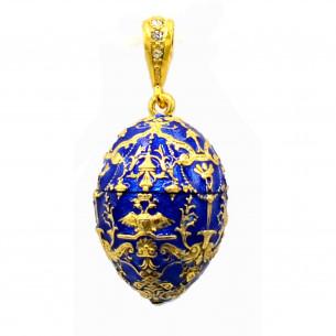 Fabergé Egg Pendant - Czarevich Egg