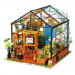 DIY 3D Miniature House   Cathy's Flower House