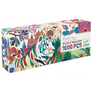 Rainbow Tigers 1,000 Piece Puzzle
