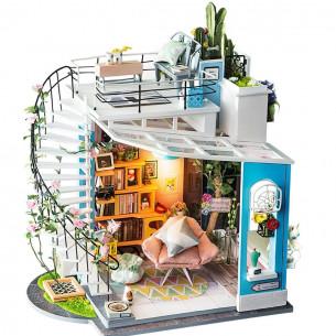 DIY 3D Miniature House   Dora's Loft