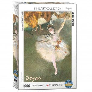 *Edgar Degas The Star (Dancer on Stage) 1,000 Piece Puzzle