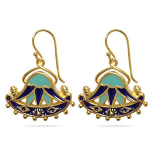 Egyptian Lotus Earrings