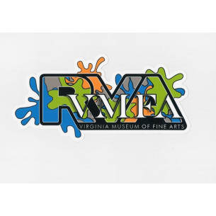 VMFA RVA Sticker - Designed by Hamilton Glass