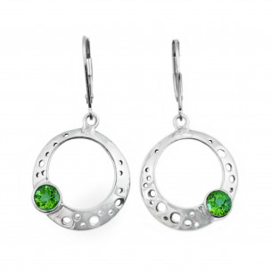 Jason McLeod Bubble Hoop Earrings - Peridot