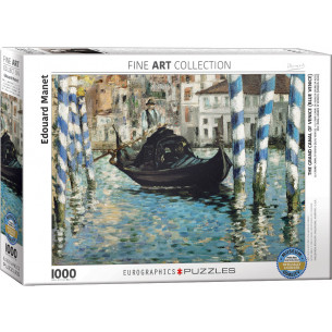 *Edouard Manet The Grand Canal of Venice (Blue Venice) Puzzle