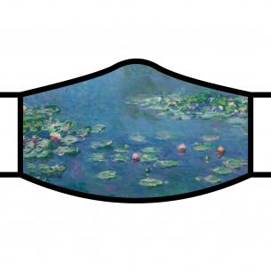 Monet Water Lilies Face Mask