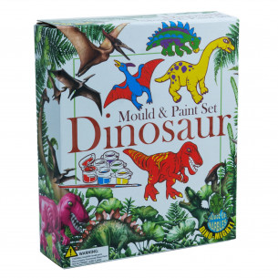 Mould & Paint Set - Dinosaur