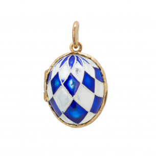 *Fabergé Egg Pendant - Old Dominion University