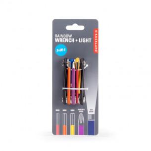 Rainbow Wrench & Light Multi-Tool