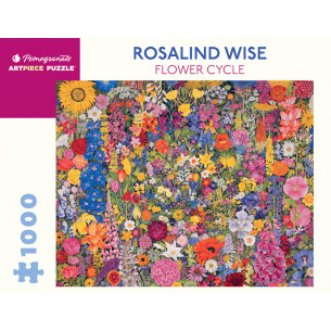 *Rosalind Wise: Flower Cycle 1000-Piece Jigsaw Puzzle