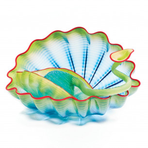 2021 Chihuly Studio Edition - Seagrass Seaform