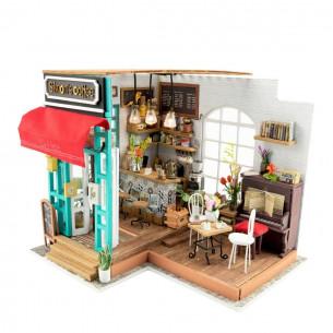 DIY 3D Miniature House   Simon's Coffee