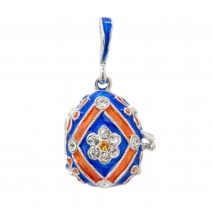 *Fabergé Egg Pendant -  UVA University of Virginia