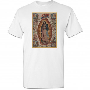 Virgin of Guadalupe White T-Shirt