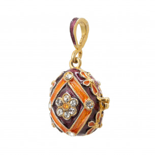 *Fabergé Egg Pendant - VT Virginia Tech