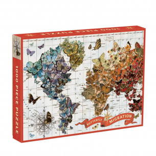 Wendy Gold Butterfly Migration Puzzle