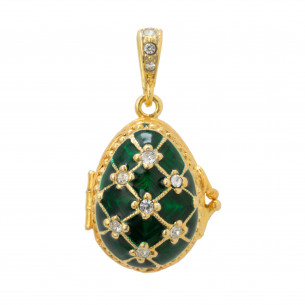 *Fabergé Egg Pendant - William & Mary