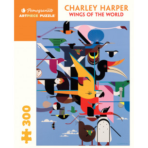 *Charley Harper: Wings of the World Jigsaw Puzzle